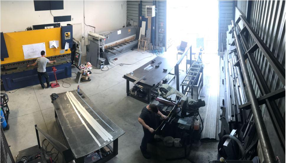 Conceptinox usine fabrication sur-mesure