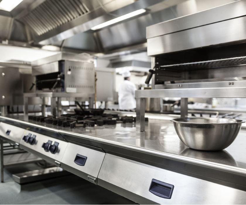 Piano de cuisson grande cuisine