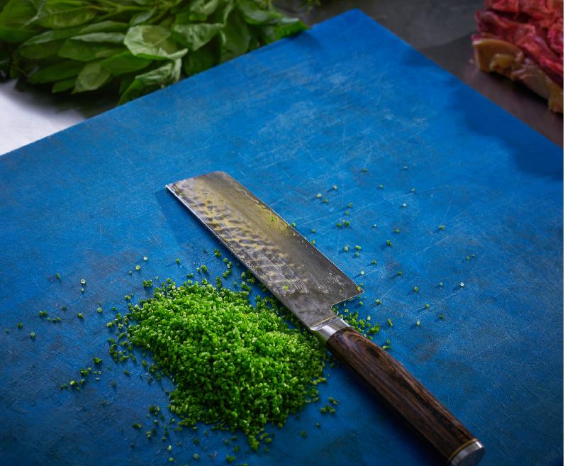 Cuisine effet artistique en restauration commerciale