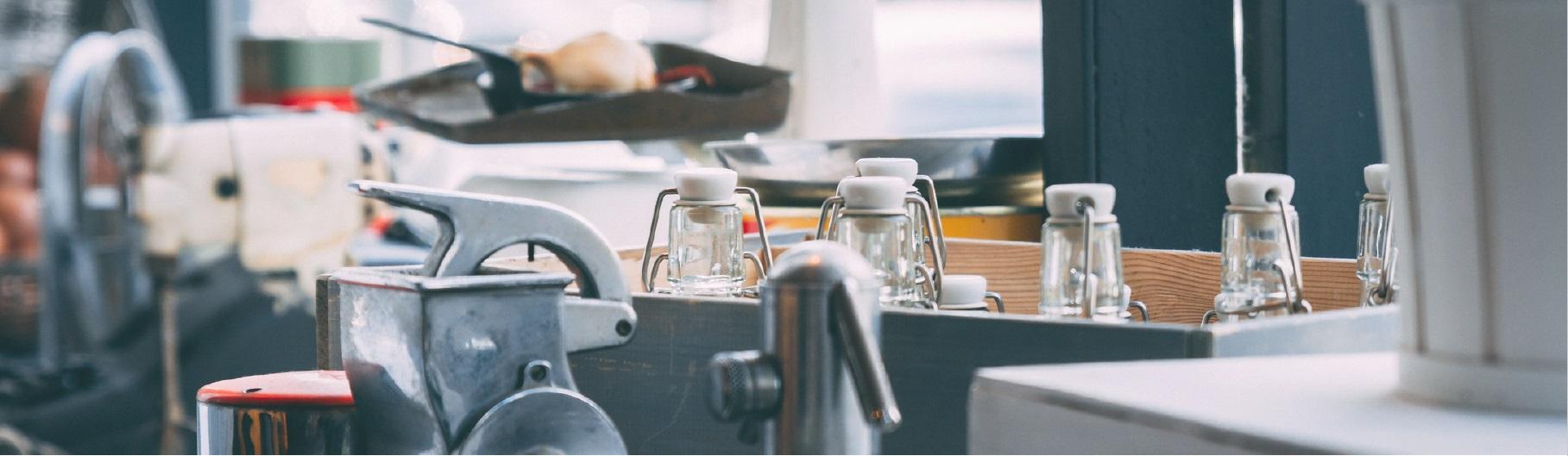 Vue de bar en restauration commerciale